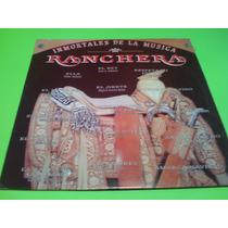 Disco Lp Inmortales De La Musica Ranchera Varios Artistas