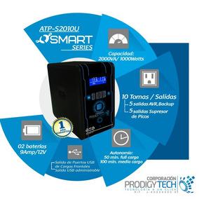 Ups 2000va / 2kva Smart Series Marca Atp - Administrable