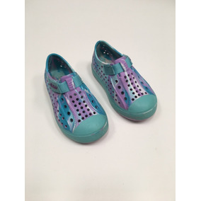Zapatillas Náuticas Skechers Nena Talle 6 Swirly Brights
