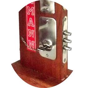 Fechadura Dobermann Auxiliar De Embutir 40mm + 4 Chaves
