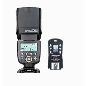 Flash Yongnuo 560 Iii Y Disparador Rf605 Para Nikon