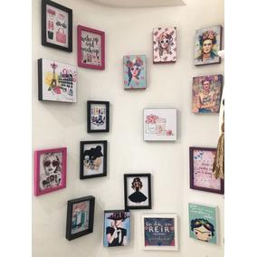 Portarretratos Box Pintados Para Decorar Su Casa