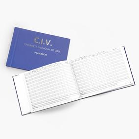 Civ - Caderneta Individual De Voo - Planador