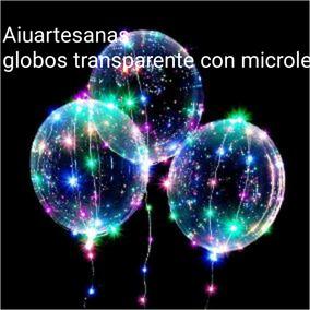 1 Globo Luminoso Cristal+guirnalda 30 Led 3m Color S*pilas