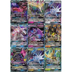Lote 50 Cartas Pokémon Com Um Card Gx Garantido (v. Foto)