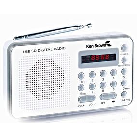 Radio Digital Ken Brown Dx-545 Am Fm Batería Recargable
