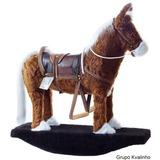 Cavalinho Brinquedo Pelucia Fantástico Balanço Cavalo Lindo