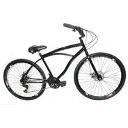 Bicicleta Aro 29 Vintage Retrô Beach Caiçara Praiana 21 V , Conforto E Performance, Cubos Em Alumínio Com Rolamento