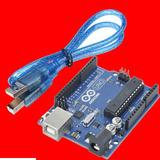 Arduino Uno R3 Dip Con Cable El Famoso Original Clasico 16u2