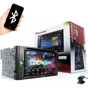 Dvd Player Automotivo Pioneer Avh A208bt 2din Usb Promoção