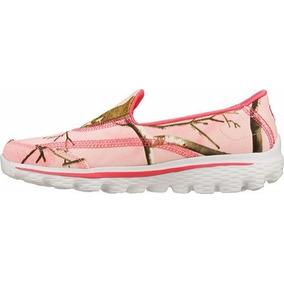 Zapatos Skechers (niña) Gowalk 2 The Real Deal,pink Us 11