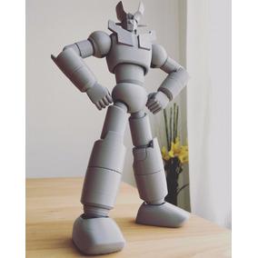 Mazinger Z Articulado. Juguete Didáctico Para Imprimir 3d