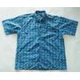 Camisa Hawaiana Americana Manga Corta Veleros Hombre Xl
