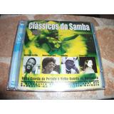 Cd - Classicos Do Samba Martinho Da Vila Ivone Lara Jamelao