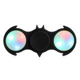 Spinner Fidget Hand Batman Con Luz Led Antiestres Original