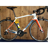Bicicleta Wilier Gtr Team Tamanho M 2018 Branco/azul/laranja