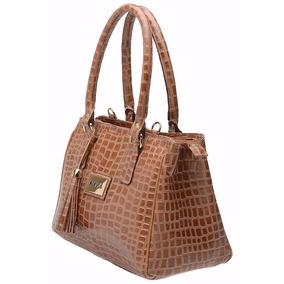 Bolsa Couro Legítimo Feminina Grande Estilo Importada Luxo