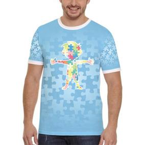 Camisa, Camiseta Autismo 1 Menino