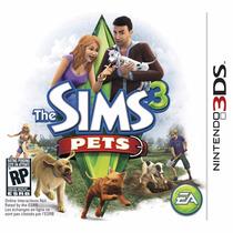 The Sims 3 Pets 3ds Nuevo Sellado ( Videogames Jdc )