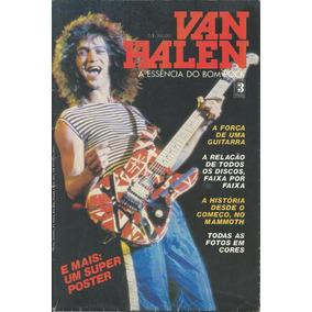 Revista Poster Somtres-van Halen-raro