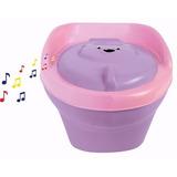 Troninho Infantil Piniquinho Menino Menina Musical 2 Em 1