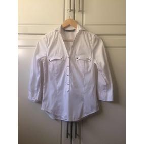 Camisa Dama Blanca Zara Talla S