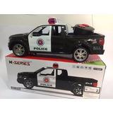 Caminhonete Policia Carro Controle Remoto, Promoção!!