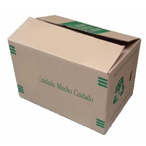 Paquete 50 Cajas De Cartón Seminuevas 49x33x33 Envio Gratis