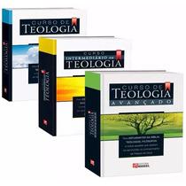 Curso Completo Teologia Betesda 3 Livros + 10 Cds