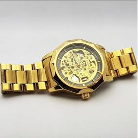 Reloj Winner Golden Dodecagon - Automático