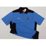 Camisa Botafogo Polo Viagem Oficial Puma Azul 2013 / 2014