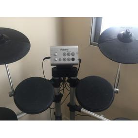 Bateria Eletrônica Roland Hd-1 V-drums Lite