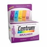 Centrum Mulher A Zinco Com 30 Comprimidos