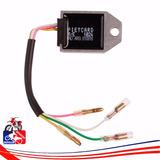 Regulador De Corriente Pietcard 4 Cables Honda Xr200 Xr400 H