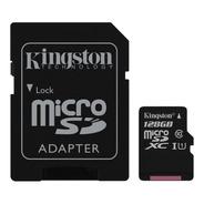 Memoria 128gb Kingston  Micro Sd Xc Canvas Select Uhs