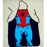 Mandil De Súper Chef, Diseño Spiderman, Hombre Araña.