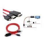 Cable Micro Usb A Hdmi(mhl-hdmi) Para Samsung Galaxy S3, S4,