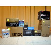 Nikon D5100 Equipo Foto Completo Impecable Muy Poco Uso