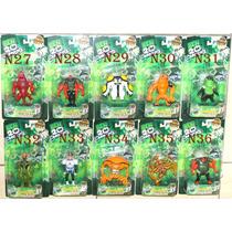 Boneco Ben 10 Coleção Ben10 Ominiverse Kit Com 10 Promoção