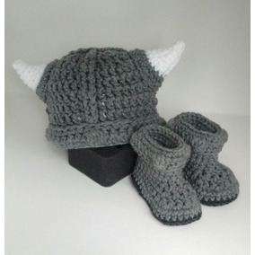 ada540067 Gorro De Lana Tejidos Crochet - Ropa y Accesorios Gris oscuro en ...