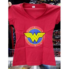 Camiseta Mujer Maravilla Dama - Todas Las Tallas