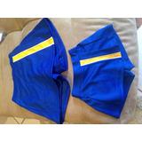 Saia Shorts Infantil Idade 0 A 8 Anos Azul E Amarelo Torro