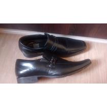 Sapato Social Preto Masculino Usado Tam 45 - Marca Jota Pe