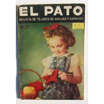 El Pato Revista De Tejidos De Agujas Y Gancho Revista 1959