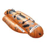 Bóia Banana Boat Inflável Jet Bob Nautika 2 Pessoas *top*