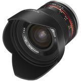 Lente Samyang Rokinon 12mm F2.0 Sony E Mirrorless A6000 A7
