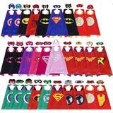 Capas Super Heroes Para Adultos Y Niños