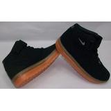 Botas Nike Air Force One Unisex, Para Niños!! Talla 34 ....