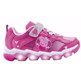Zapatillas Con Luces Peppa Pig Footy #948 #949 Mundo Manias