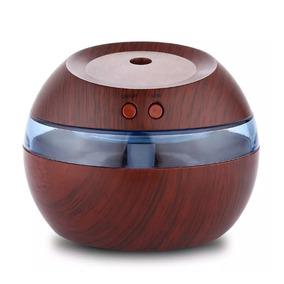 Mini Humidificador Difusor De Aromas Usb Ultrasónico Led
